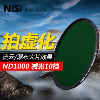Gambar Nisi ND1000 82mm dengan mikroskop cahaya di cermin abu abu