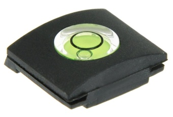 Pencari Harga noonbof Camera Flashlight Hot Shoe Spirit Level Cover (Black) -intl Pelacakan Harga