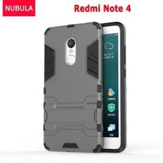 NUBULA 360 degrees Ultra-thin Hard Back Cover For Xiao mi Redmi Note 4 / Xiao mi Redmi Note 4X Prime Detachable 2 in 1 Hybrid Armor Shell Case Dual- Layer ...