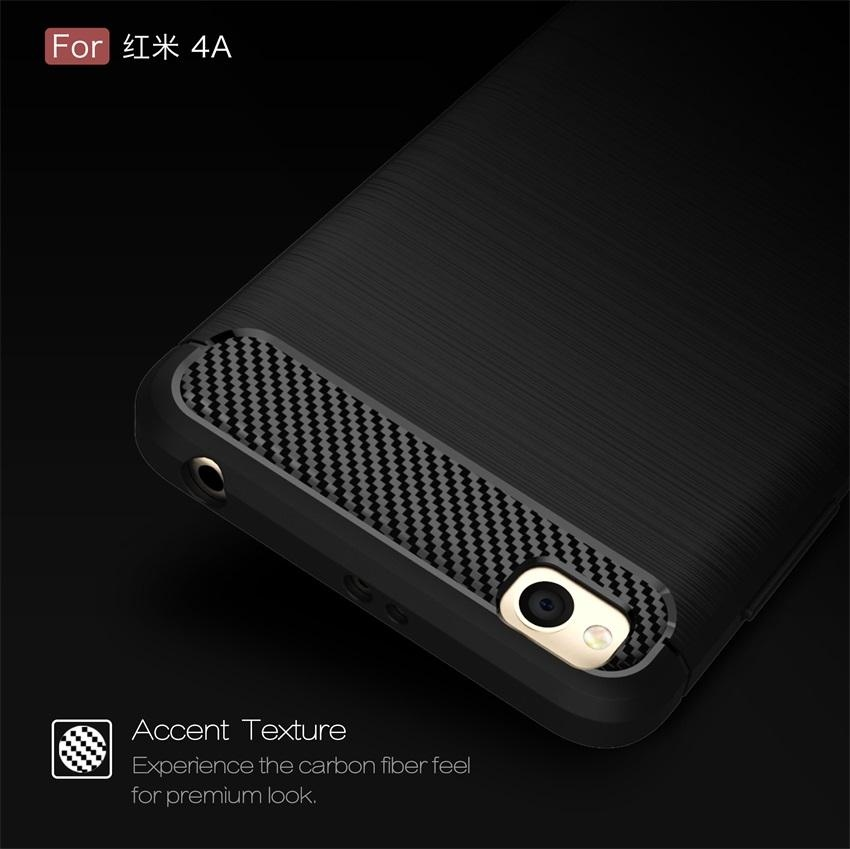 NUBULA High Quality Soft Rugged Armor Case For Xiao mi Redmi 4A Carbon .