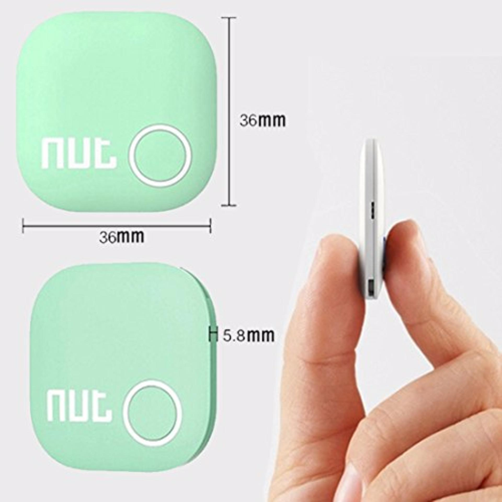 Nut Mini Smart Tracker Smart Alarm Tracer Finder GPS Locator Anti Lost Alarm - Bluetooth V4 ...