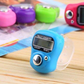 Oh Stitch Marker Dan Mendayung Jari Kontra LCD Digital Elektronik Penghitungan Kasir - 5