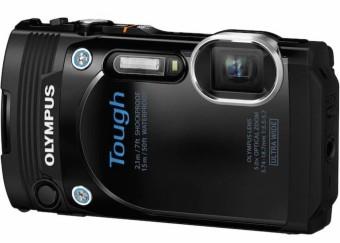 Olympus Stylus Tough TG-860 Digital - 16MP - Hitam