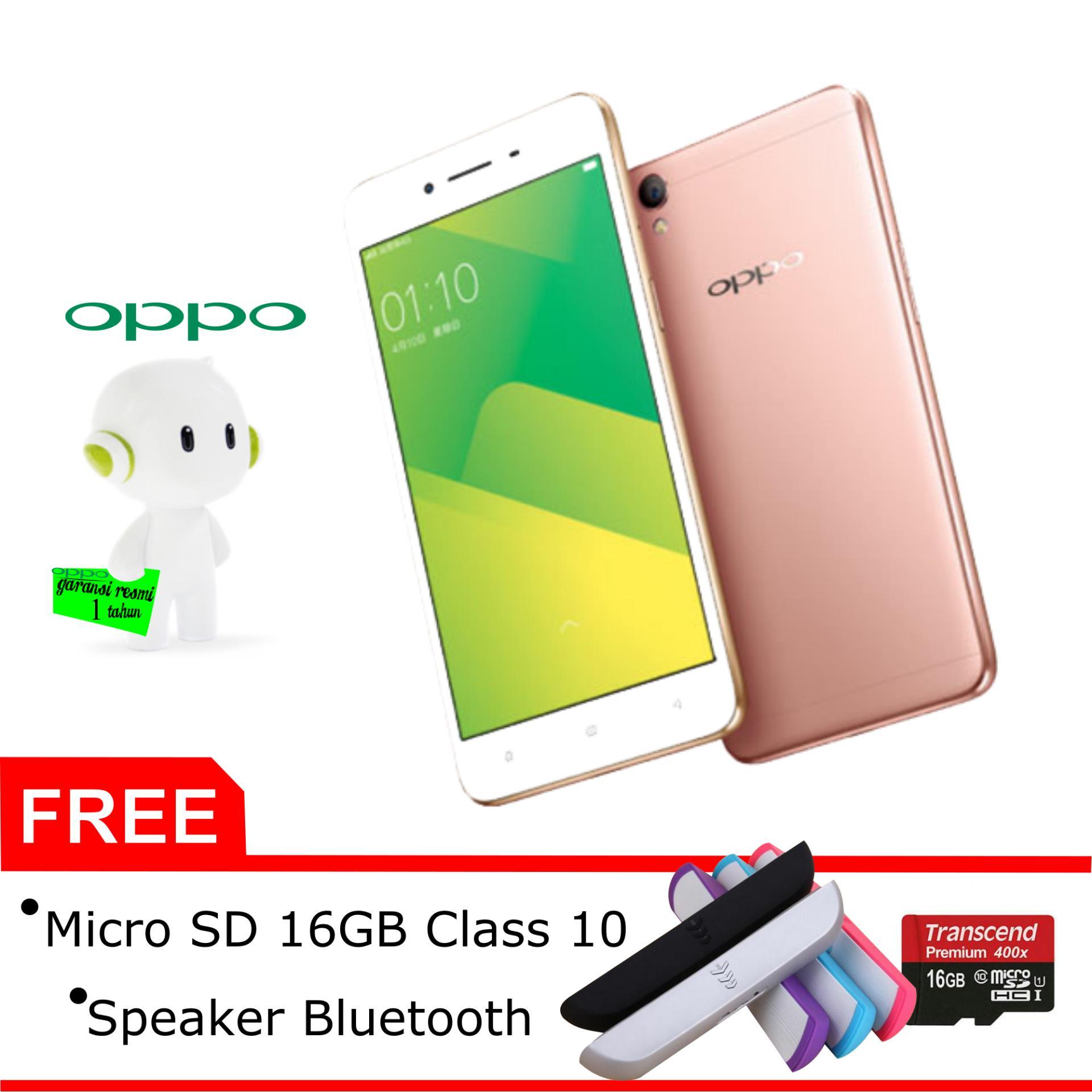Belanja Terbaik Oppo A37f 2 16gb Rose Gold Free Micro Sd Neo 9 16 Gb Class 10