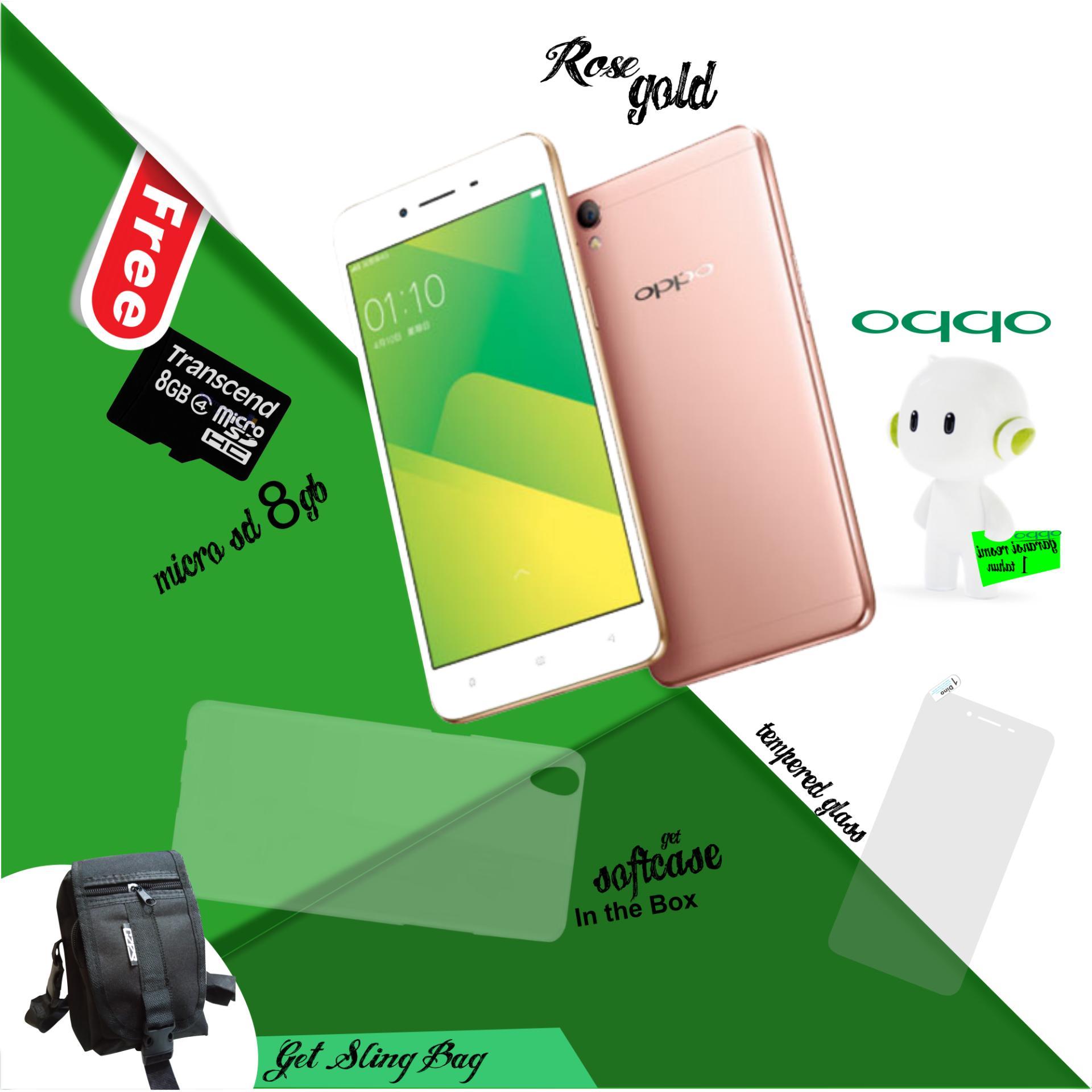 Oppo A37F 2 16GB Rose Gold garansi resmi Free