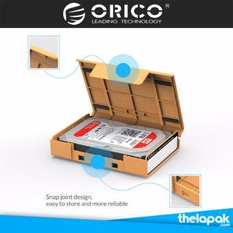 2.5 Inch Usb 3.0 Sata Hd Kotak Hdd Hard Drive Eksternal Kandang Case (Biru)