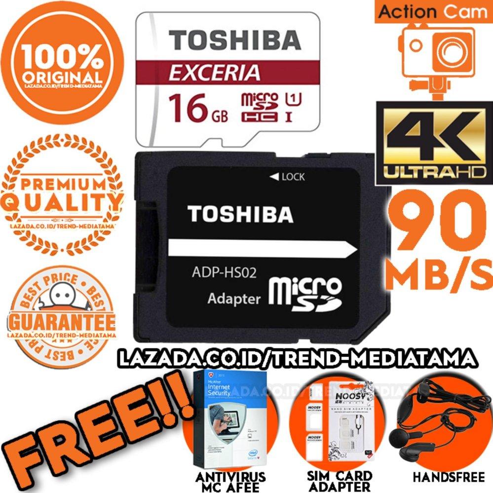 Original 100% Toshiba Micro SD 90Mb/s (4k Action Cam .
