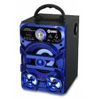 (Original) GMC Speaker Portable Radio,SD/USB Music Player,karaoke, 898C