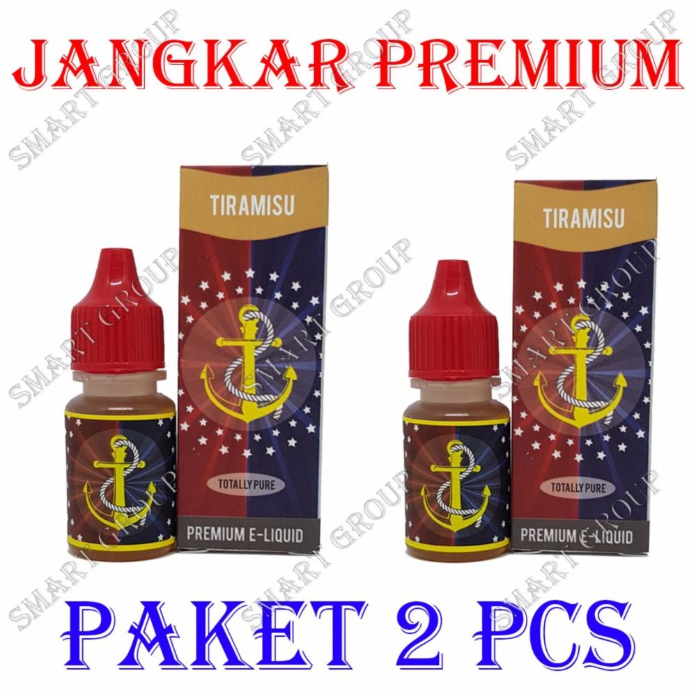 Flash Sale Original Jangkar E-Liquid Premium Rokok Elektrik - Tiramisu 2 Pcs