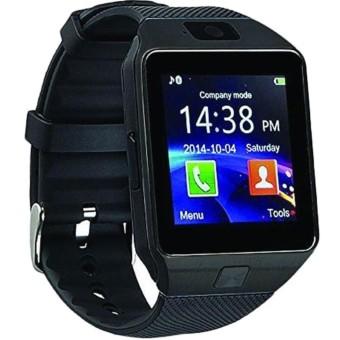 harga ORIGINAL SmartWatch Jam Tangan Handphone Strap Karet DZ09.AS Lazada.co.id