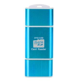 OTG USB Micro Card Reader SDTF 64 GB