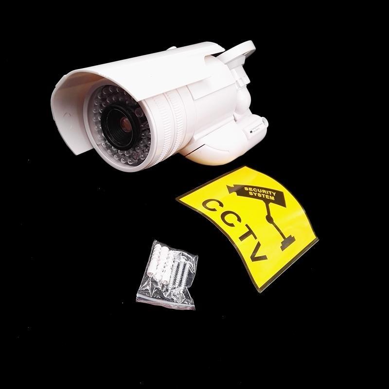 ... Outdoor cctv camera IP Camera Surveillance Security Camera DummyNight CAM LED Light with Warning sign safe ...
