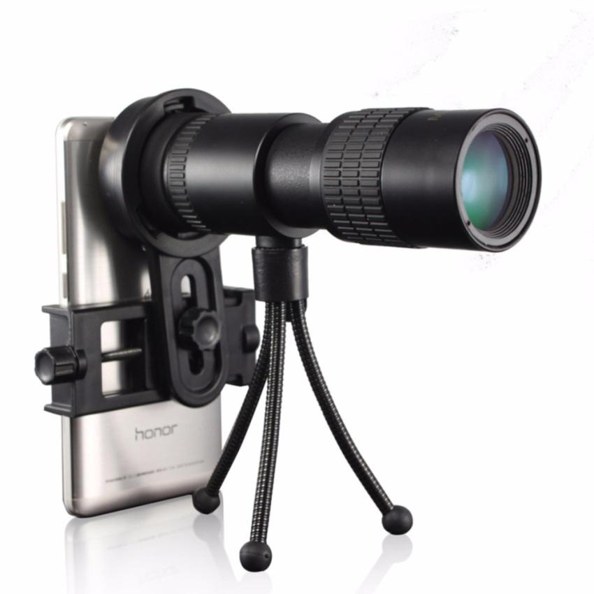 Outdoor MF10-30X30 monocular zoom telescope + tripod + phone clip - intl