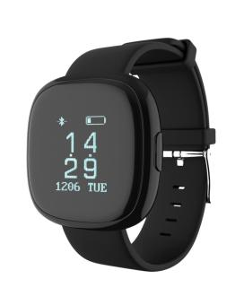 Jual P2 Bluetooth 40 Wristband Smart Watch Heart Rate Blood Pressure Monitor Waterproof Ip67 Sports Fitness Tracker Smart Bracelet For Android And Ios - Black - Intl Murah