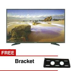 Panasonic 32 inch LED HD TV - Hitam (Model TH-32E305) + Gratis Bracket