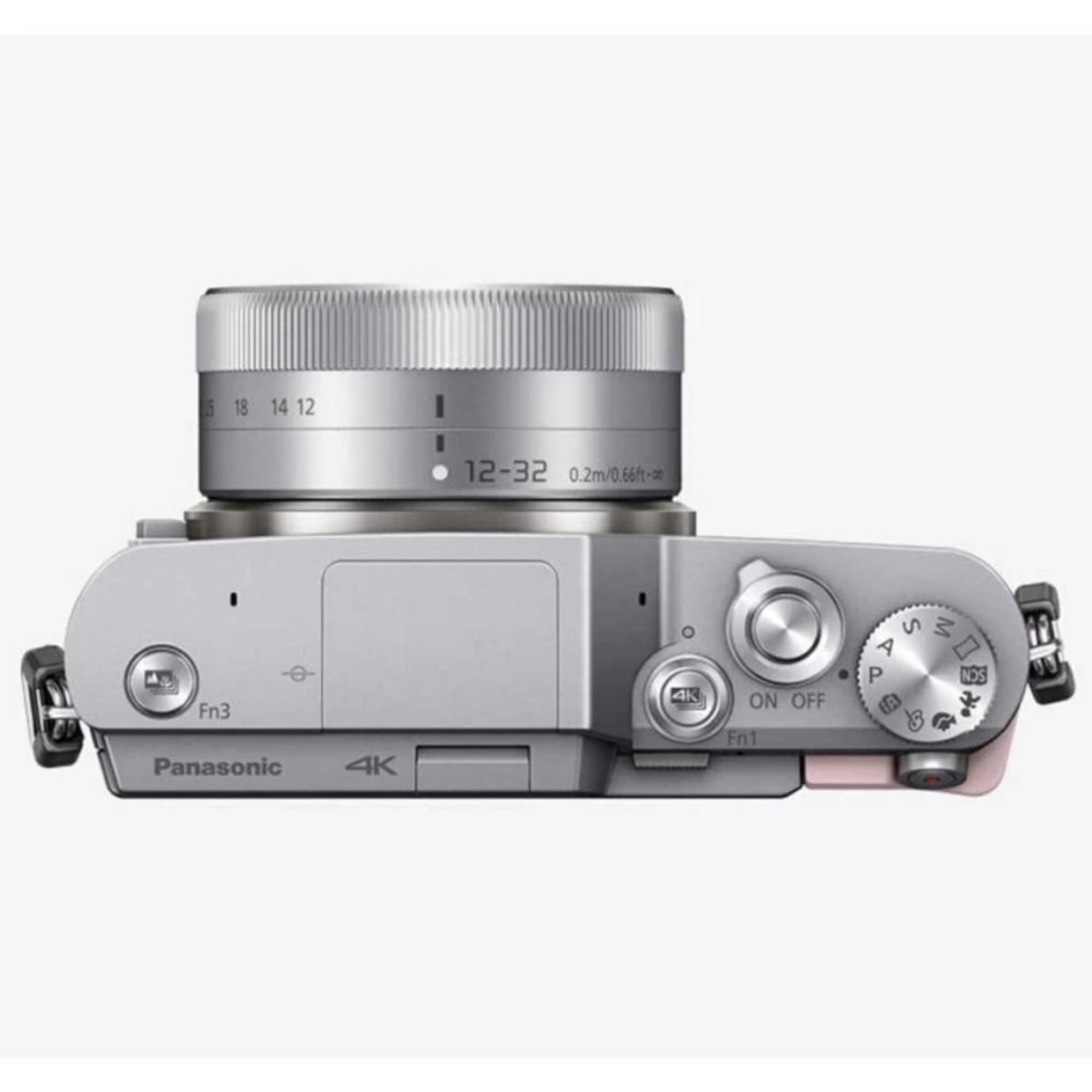 Harga Dan Spek Panasonic Lumix Dmc Gx85 Kit 12 32mm Silver Black Hitam Perbandingan Gf9 Gratis Brown Free 32gb