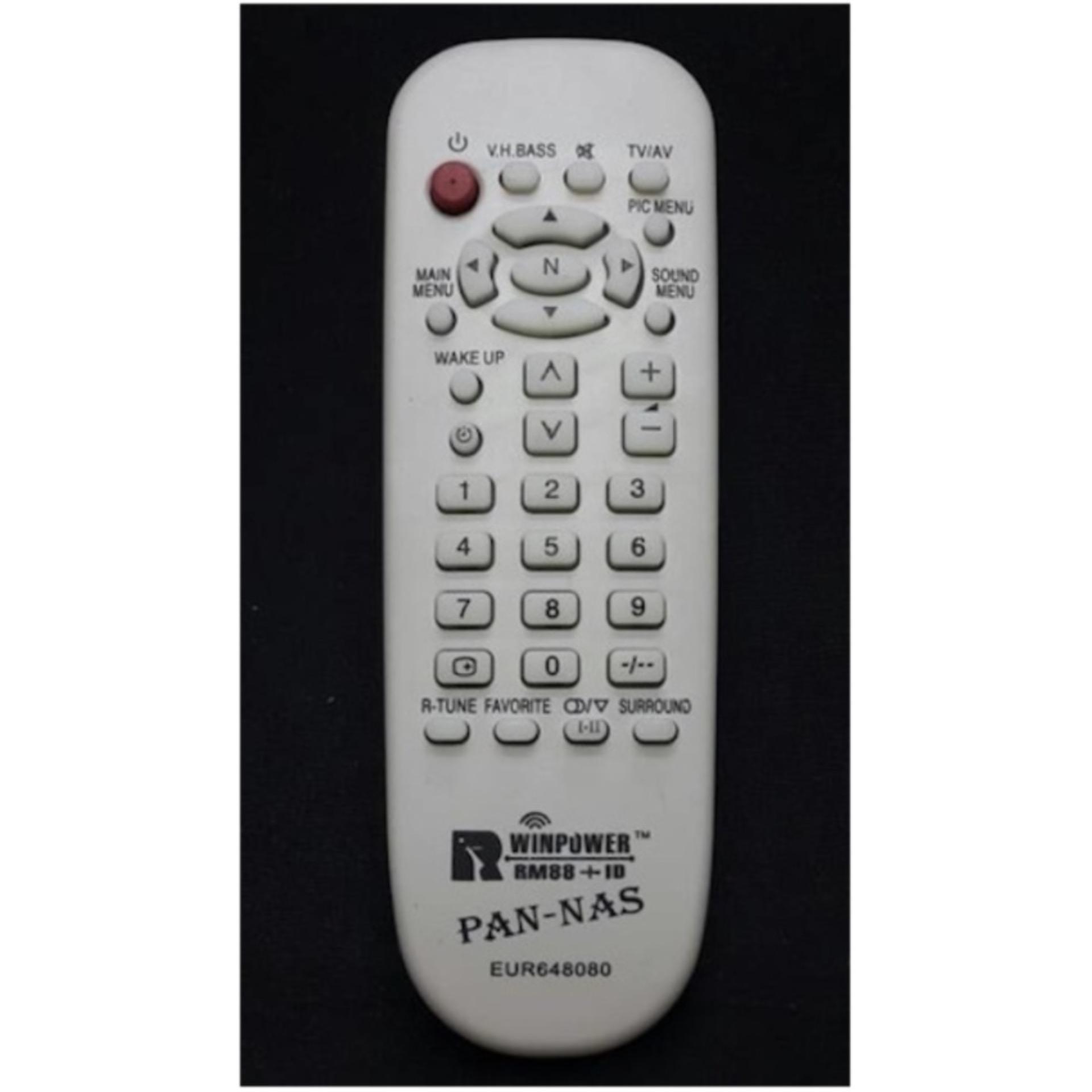Panasonic Remote TV Tabung - Putih