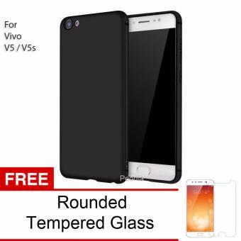 Peonia Anti Fingerprint Premium Quality Grade A Ultraslim Hybrid Case for VIVO V5 / V5s /