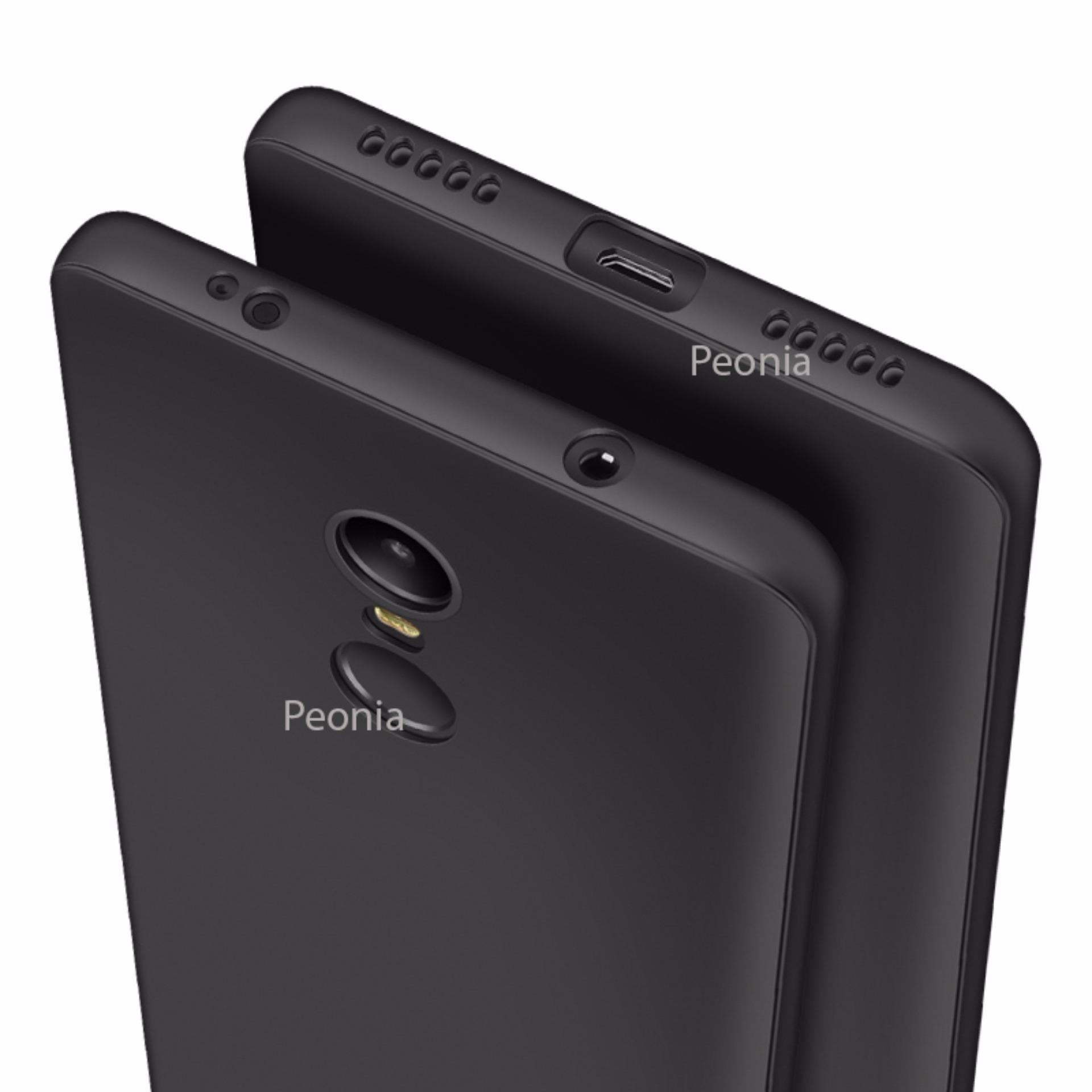 Peonia Carbon Shockproof Hybrid Premium Quality Grade A Case For Xiaomi Redmi Note 4 Ironman Series Anti Fingerprint Ultraslim