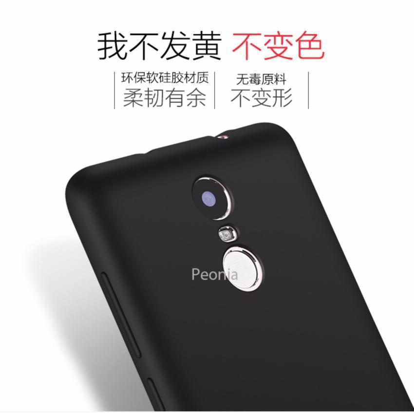 Peonia Anti Fingerprint Ultraslim Hybrid Case for Xiaomi Redmi Note 3 Prime Pro .