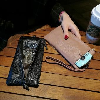 Beli perempuan tipis wanita Clutch paket handphone tas Terpercaya