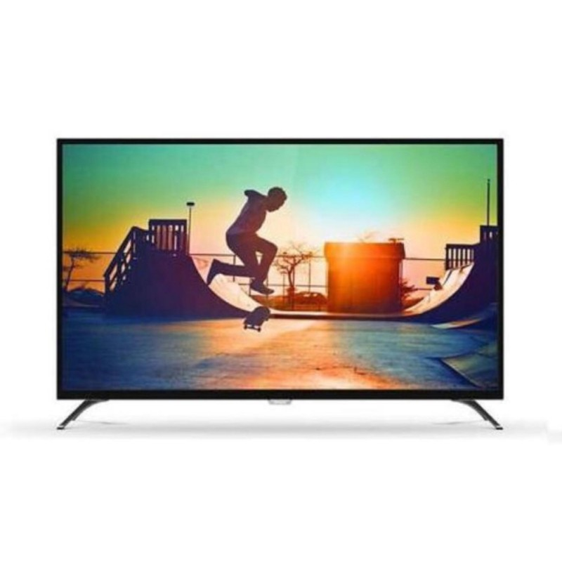 Philips 55PUT6002 4K Smart LED TV - Hitam (55 inch ) DVB-T2