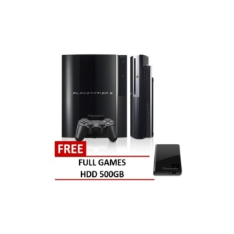 playstation3 fat hardisk 560GB cfw versi baru 4.81 free Stickwireless sony original peking