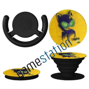 Pop Socket Mobile Phone Holder Stand Grip Multifunction - Cat Woman