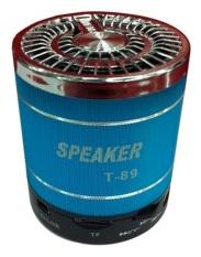 Portable Speaker T 89 - biru