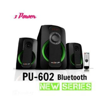 Detail Gambar Power Up S602 Speaker Aktif -Bluetooth Connection(garansi resmipower up)Hitam Terbaru
