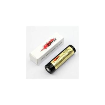 Promo !! Efest 18650 Li-Ion Unprotected Battery 2600mah 3.7v With Flat Top - Baterai Batere Batre Batrei Senter Remote Isi Ulang Rechargeable 2600 Mah 3.7 V Volt Original