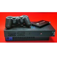 PS2 Sony PlayStation 2 USB Harddisk 40 Gb Console Black Free Games & MMC