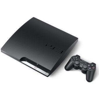 PS3 1TB FULL Games Cfw Multiman + Paket Lengkap - Sony Playstation3 Slim - Hitam