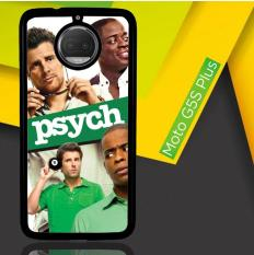 Psych Tv Series Y2600 Casing Motorola Moto G5s Plus | Moto G6 Plus Custom Hard Case