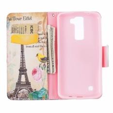 PU Kulit Dompet Case Cover untuk LG K7/K8 (Multicolor)-Intl