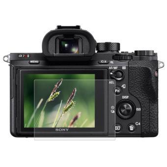 PULUZ kamera 2.5 D melengkung Edge 9 H kekerasan permukaan pelindung layar anti gores untuk Sony RX100 / A7 M2 / A7 R / A7 R2 - 2