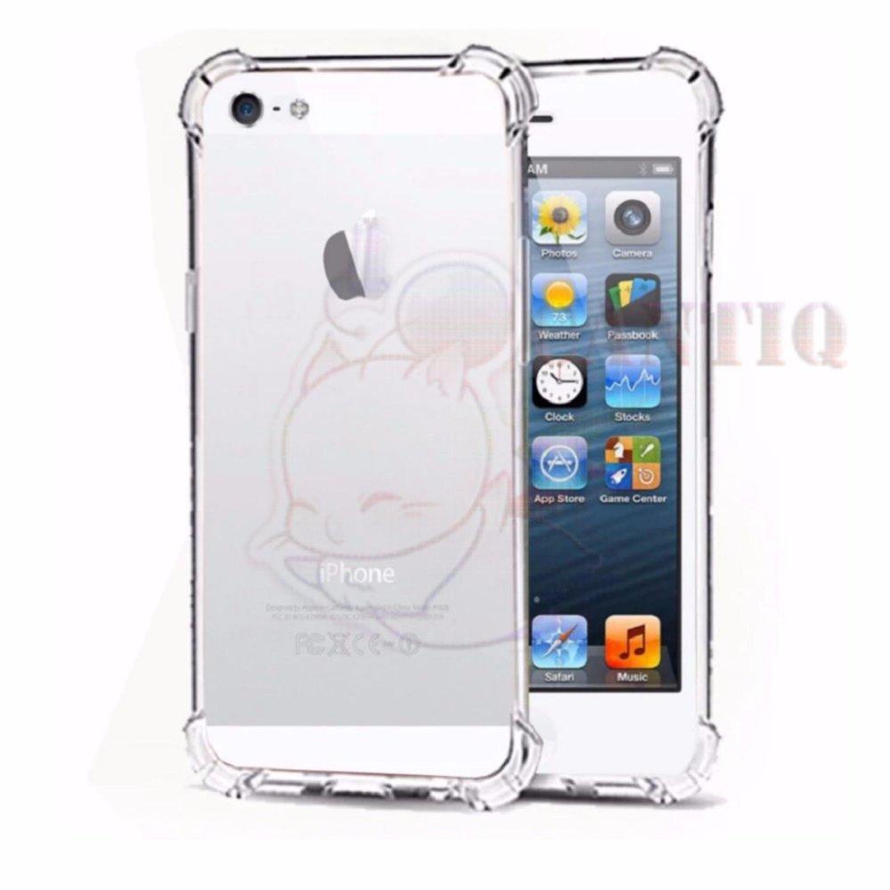 QCF Softcase Anti Crack Untuk Apple iPhone 5G / iPhone 5S / iPhone .
