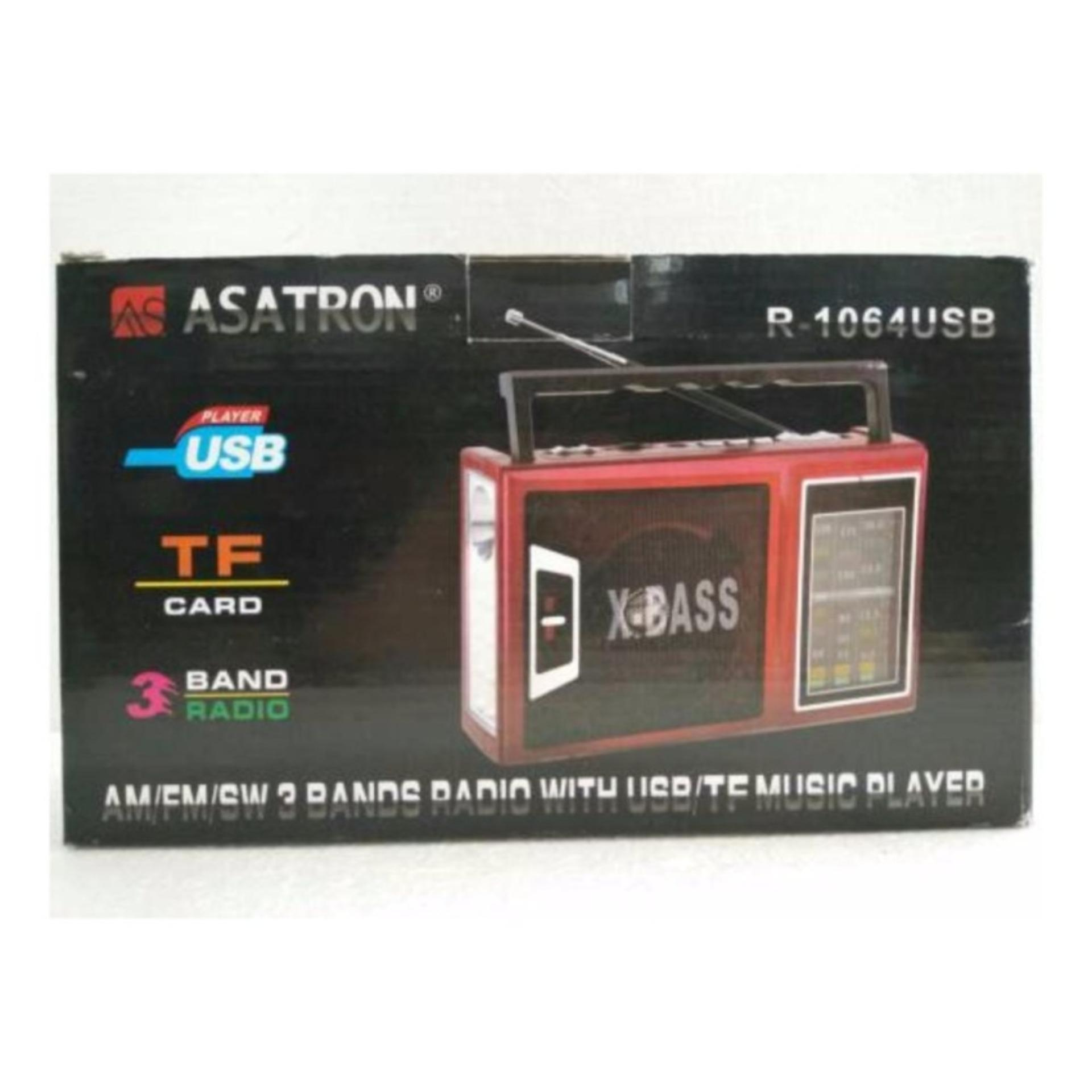 Radio Asatron R 1064 USB AM FM SW