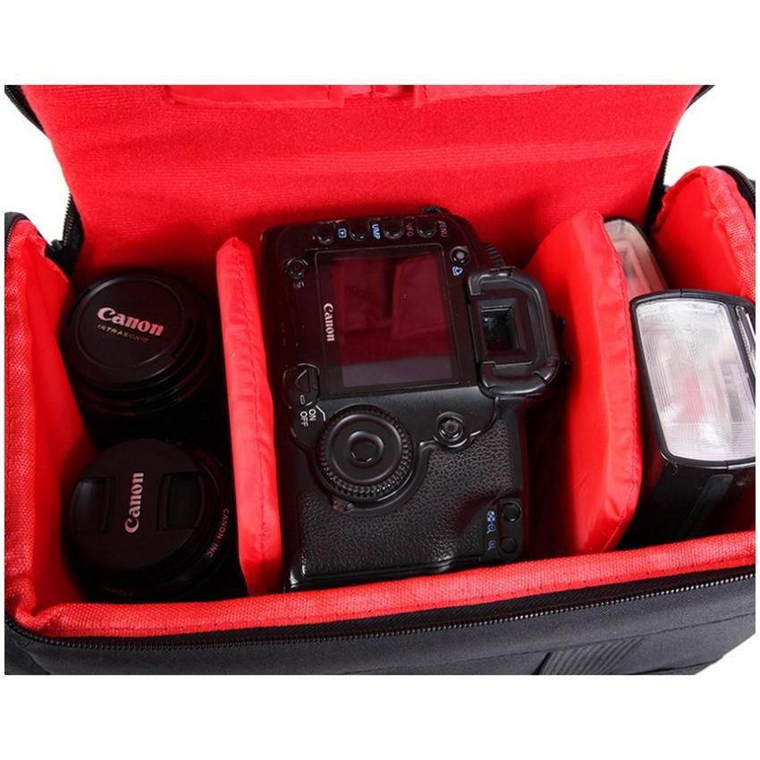 Rain Cover Tahan Air tas untuk kamera video DSLR SX60 SX50650D 700D 100D .