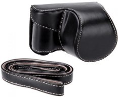 Rajawali Leather Case for Sony Alpha A6000 - Hitam