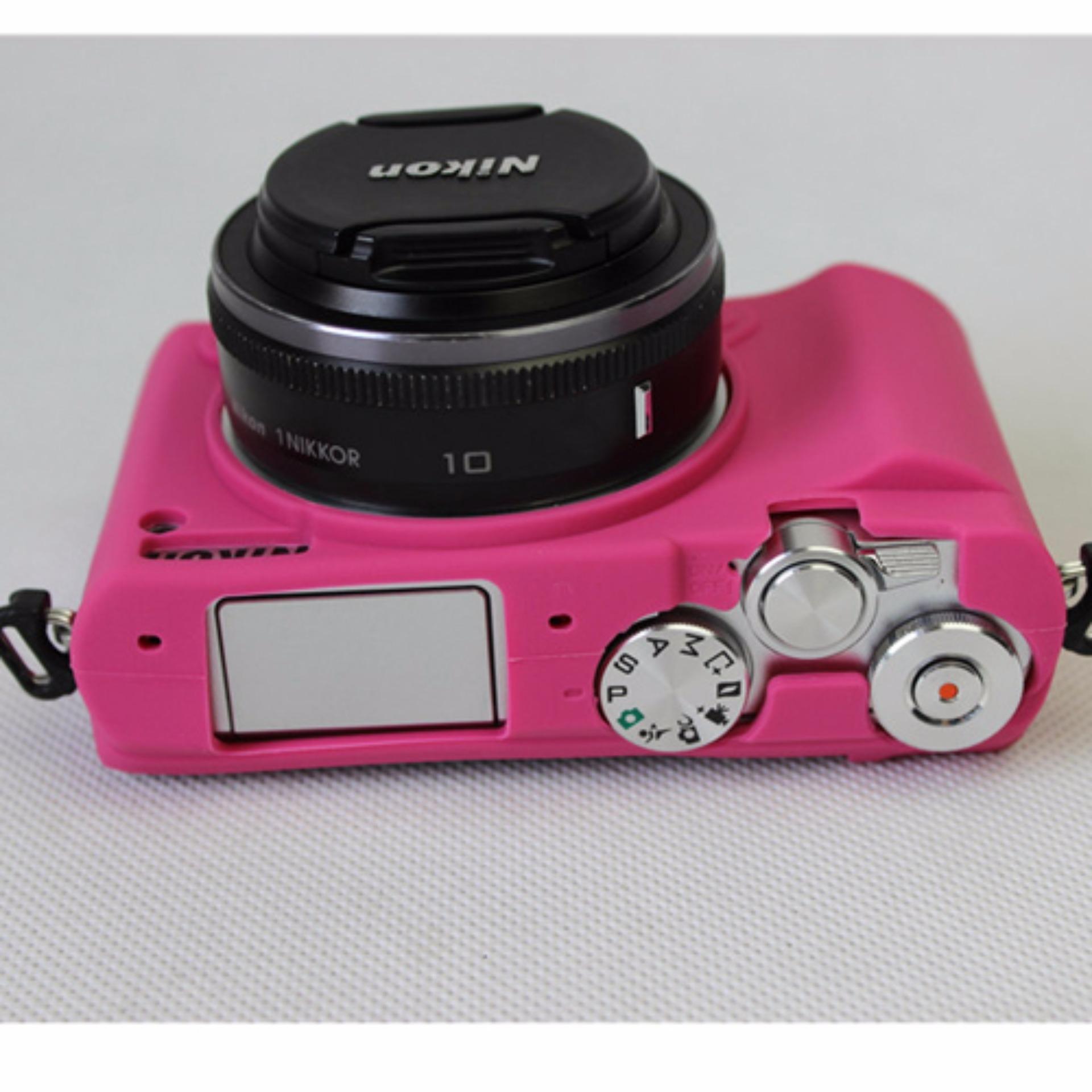 Rajawali Silicone Case For Nikon J5 - Brown/Coklat ...