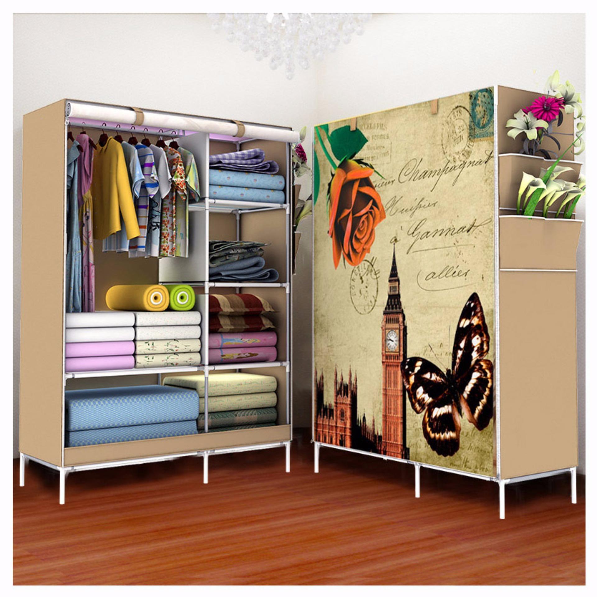 Tikar Lipat Piknik. Source · Rak Pakaian Plastik Furniture Murah Lemari Baju .
