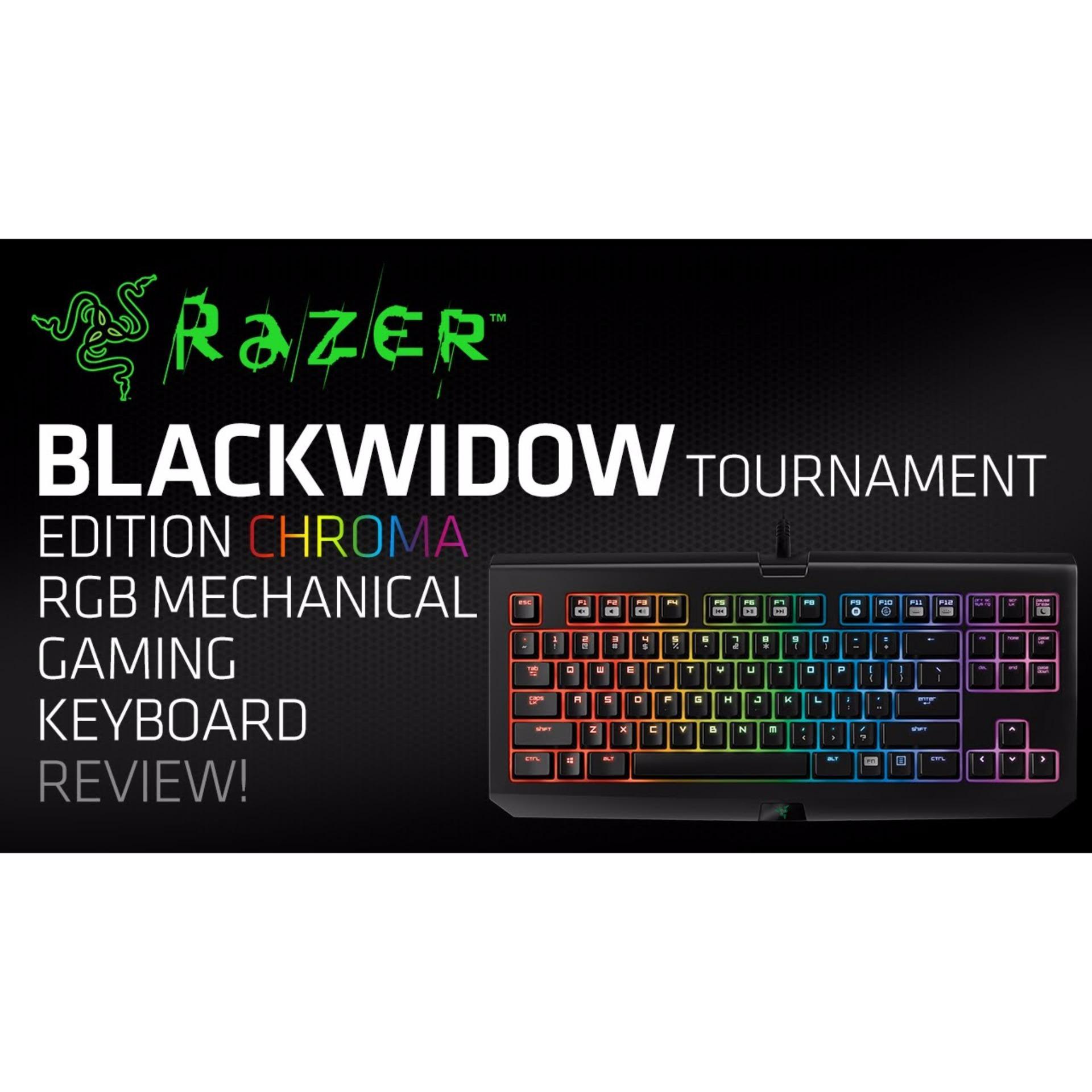 Razer Keyboard Blackwidow X Te Chroma Hitam Daftar Harga Terbaru Anansi Mmo Gaming Rz03 00550100 R3m1 Tournament Edition Mechanical