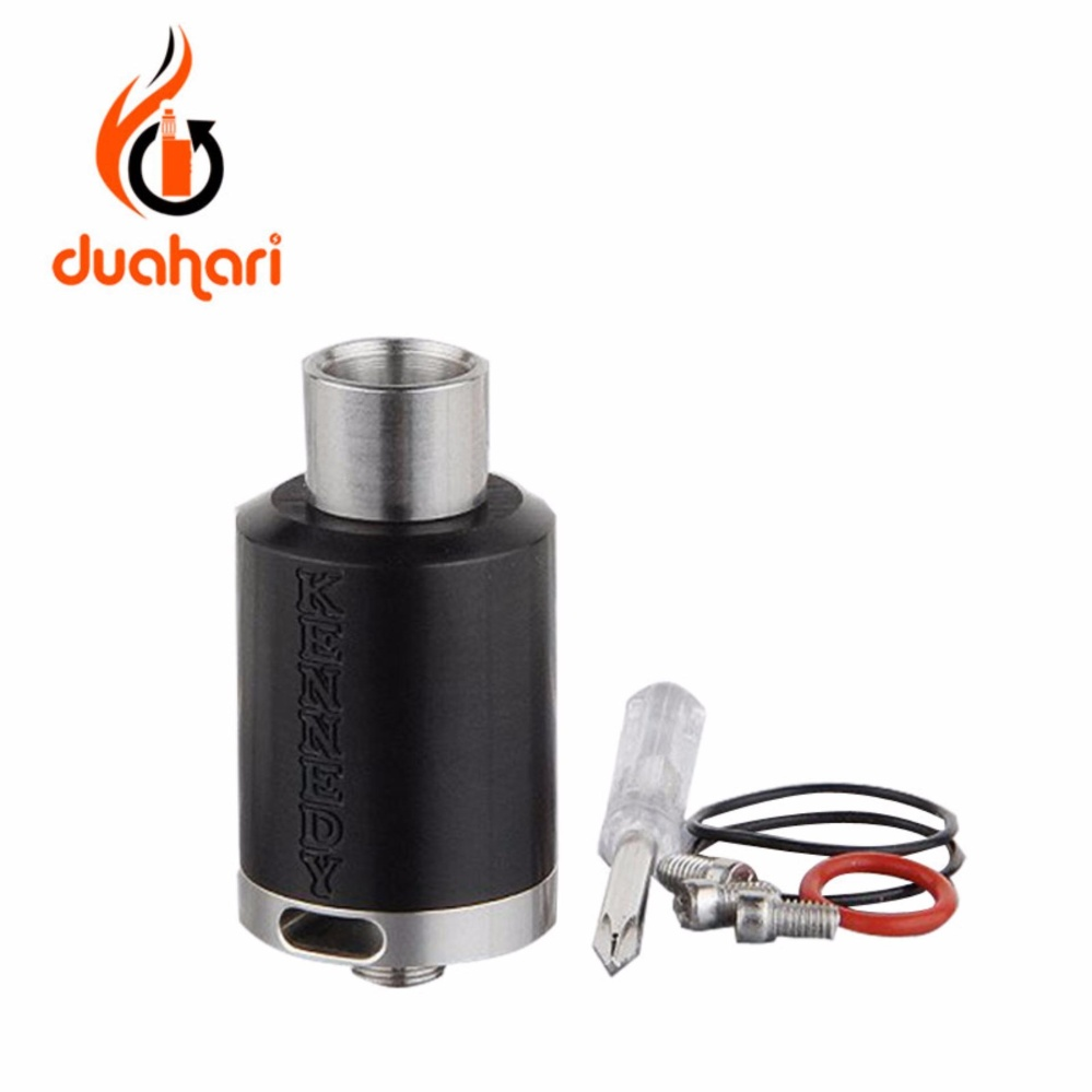 Hot Deals Rda Kennedy 22 Mm Rebuildable Dripping Atomizer Clone 11 Goon Styled 22mm Black