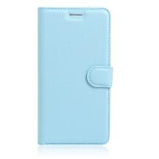 [Ready Stock] Szyhome Ponsel Case untuk Alcatel Flash Plus 2 Luxury Retro Dompet Kulit Flip Penutup Hitam Biru Brown Hijau Merah Muda Ungu Merah Rose Putih Warna Solid Shell-Intl