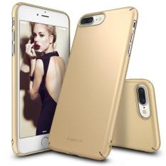 Rearth Ringke Slim Hard Case iPhone 7+ Plus Casing Cover - Emas