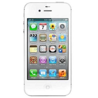 Refurbished Apple iPhone 4G - 16GB - Putih - Grade A