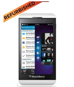 Refurbished Blackberry Z10 - 16 GB - Putih