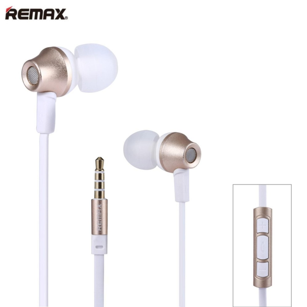Stereo Bass Handsfree Source · Remax Earphone In Ear Headset Premium Sound for .