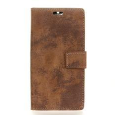 Retro PU Leather Wallet Case Cover for HTC Bolt / HTC 10 Evo - intl